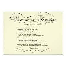 ceremony cards for weddings wedding ceremony invitations yourweek 067f52eca25e
