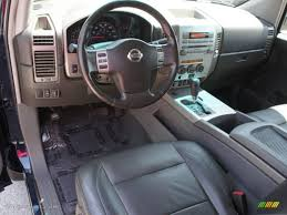 Nissan Titan 2004 Interior Graphite Titanium Interior 2006 Nissan Titan Le King Cab Photo