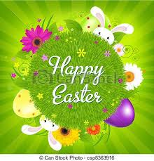 happy easter cards colorful happy easter card vector illustration clip vector