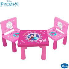 tavolo sedia bimbi tavolo tavolino per bambini disney frozen con 2 sedie