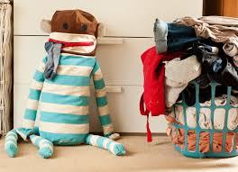 Dirty Laundry Hamper by Dirty Sock Monkey Content Gallery Huggable Sock Monkey Laundry Bag