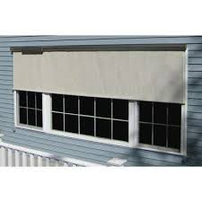 Roll Up Outdoor Blinds Outdoor Shades Shades The Home Depot