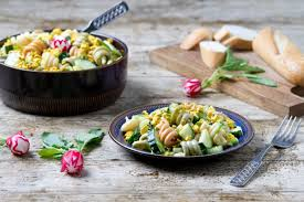 pasta salad with mayo tricolor pasta salad with homemade mayo and tofu v egg u2013 planticize