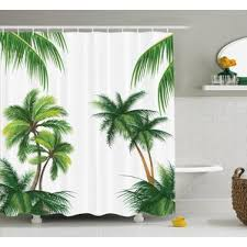 Tree Curtain Modern Shower Curtains Allmodern