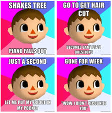 Animal Crossing Villager Meme - i used to love this game animal crossing humourous