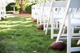 wedding ideas gridiron matrimony
