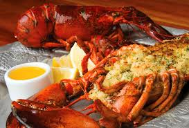 baked stuffed maine lobster feast coronado times