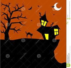 halloween cats background de kat van halloween op een enge achtergrond stock afbeelding