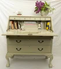 Shabby Chic Secretary Desk by Antique Shabby Chic Bureau No 01 Touch The Wood