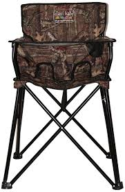 amazon com ciao baby portable highchair mossy oak infinity
