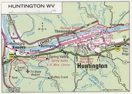 Virginia Map With Cities And Towns by Huntington Wv Road Map