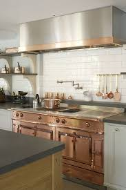 design custom copper and stainless steel la cornue range in the
