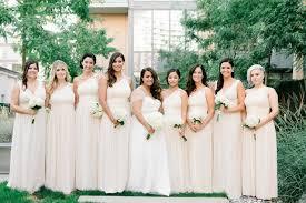 donna bridesmaid dresses bridesmaids in neutral bridesmaid dresses donna