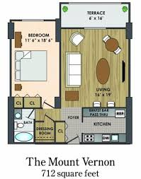 Mount Vernon Floor Plan Floorplans Sutton Place Apartments For Rent In Baltimore Md