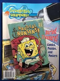 nickelodeon magazine spongebob squarepants nauticalnonsense no