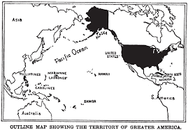united states including alaska and hawaii blank map u s isolationism writework