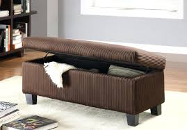 real leather ottoman coffee table ottomans narrow storage large