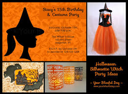 halloween bday party invites halloween party invitation clipart features party dress halloween
