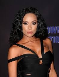 erica mena hair mena freestyle releasing meet the blacks premiere in hollywood