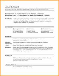 objectives for marketing resume entry level marketing resume