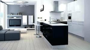 deco cuisine blanche et grise cuisine blanc gris deco cuisine blanche mur gris et jaune