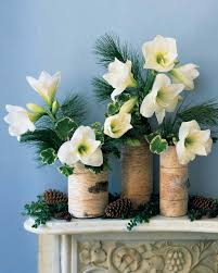 Flower Arranging For Beginners Quick Christmas Decorating Ideas Martha Stewart