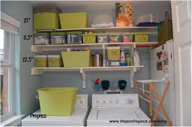 Storage Ideas Laundry Room by Laundry Shelf Over Washer Dryer Laundry Makeover Diy Wall Shelves