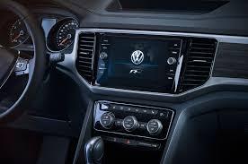 volkswagen tiguan 2017 interior 2018 volkswagen atlas gets r line exterior package motor trend