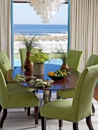 green dining room furniture green chairs and chocolate brown on