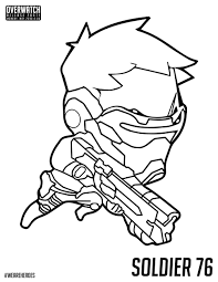 overwatch coloring pages getcoloringpages com