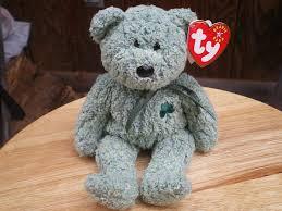 beanie babies online price guide amazon com ty beanie babies shamrock the st patricks day bear