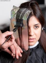 where to place foils in hair when foils or the foiling technique were invented or first used