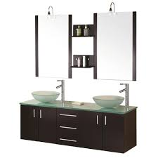 design element modena 61 in w x 20 in d vanity in espresso with