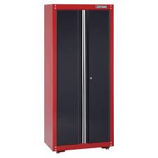 2 Door Floor Cabinet Craftsman 32 Wide Floor Cabinet Black Shop Your Way