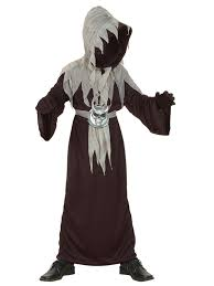 Grim Reaper Halloween Costumes Boys Kids Master Doom Grim Reaper Halloween Party Death Fancy