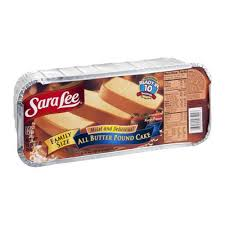 sara lee pound cake all butter reviews