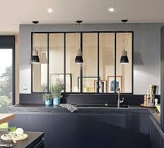 cloison cuisine salon separation de cuisine en verre cloison amovible cuisine porte
