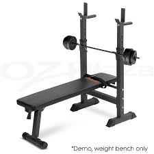 Squat Rack And Bench Adjustable Weight Bench Fitness Home Multi Gym Flat Press Incline