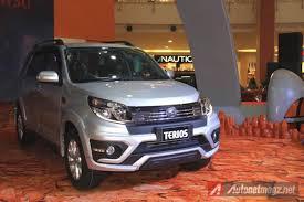 daihatsu terios 2015 2015 daihatsu terios toyota rush facelift launched in indonesia