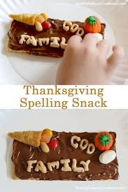 thanksgiving snacks kids
