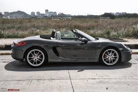Porsche Boxster Base - porsche boxster s 981 in india team bhp