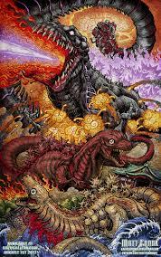 shin beasts shin godzilla print kaijusamurai deviantart