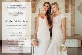 wedding dress sale gateway bridal white friday sale saltlakebrideandgroom