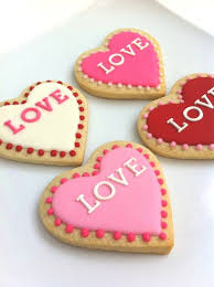 Recipe Decorated Cookies Best 25 Heart Shaped Cookies Ideas On Pinterest Flood Icing