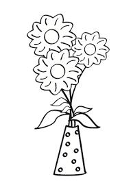 flores colorear dibujo flores colorear dibujos