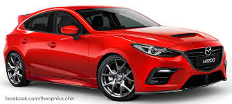 mazda 3 mps mazda 3 mps rendered hatch to revive mps badge image 317352