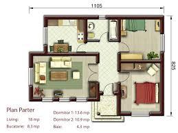 simple one floor house plans wood floors