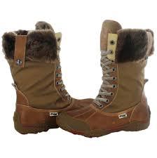 Garland by Pajar Garland Women U0027s Faux Fur Trim Snow Boots Waterproof Ebay