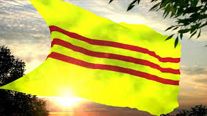 Vietnamese Freedom Flag Flag And Anthem Of The Republic Of Vietnam 1955 1975 Youtube