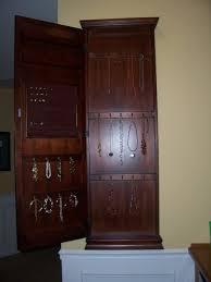 jewelry box wall mounted cabinet custom wooden wall mount jewelry box cabinet armoire design popular